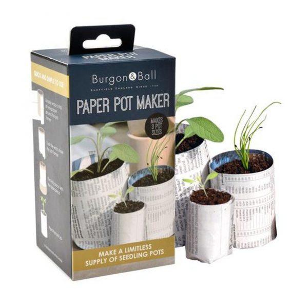 Newspaper Pot Maker