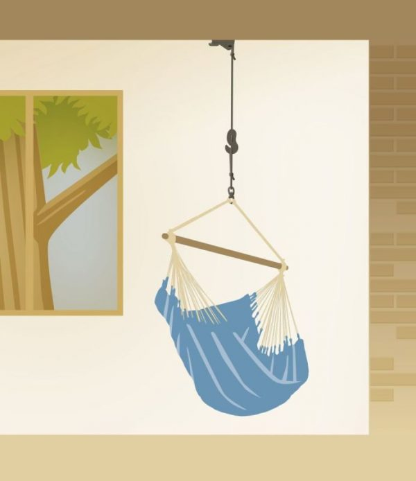 Universal Rope for Hammock Chairs – Tree & Home